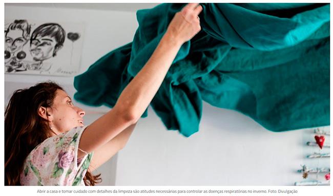 7 dicas de limpeza da casa para evitar doenças causadas por poeira e umidade