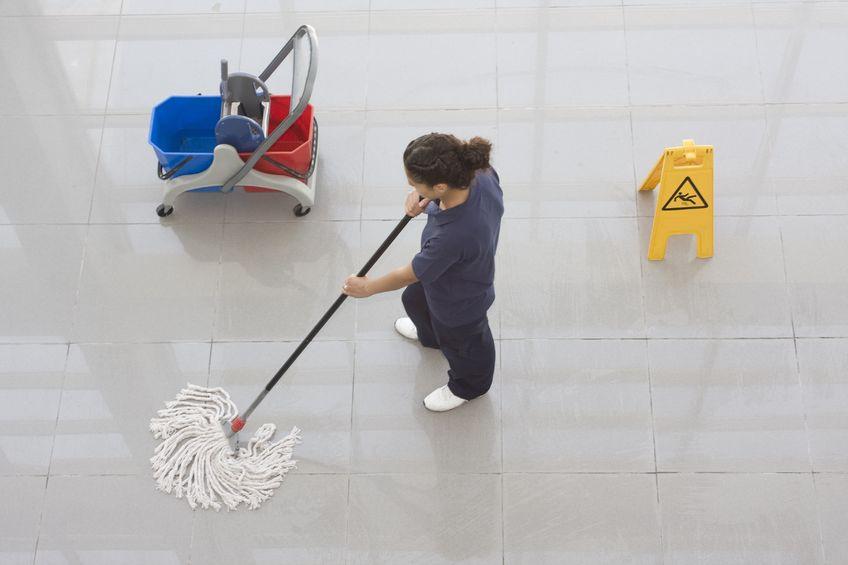Empresa de limpeza e conservação